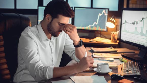 Estrés laboral (Foto: iStock)