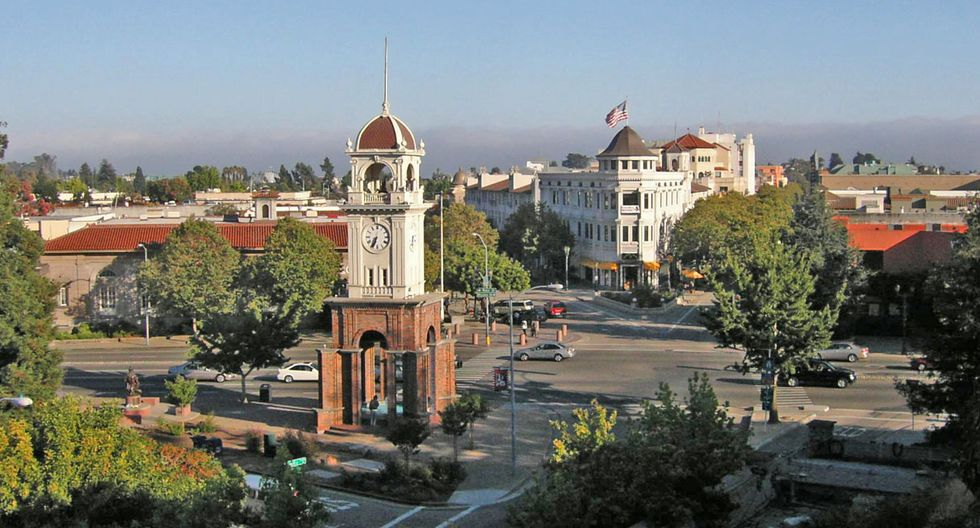 5. Santa Cruz, California, Estados Unidos (Foto: Wikipedia)<br>