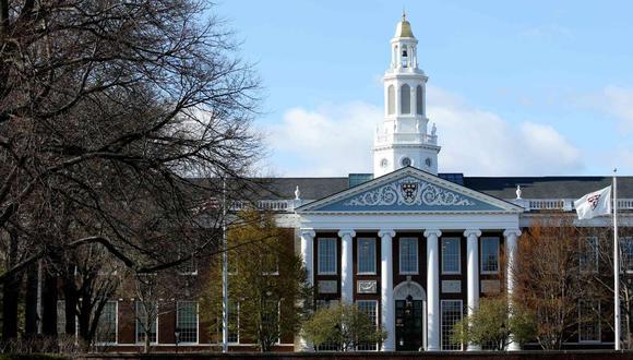 Imagen referencial. En esta foto de archivo se ve una vista general del campus de la Universidad de Harvard el 22 de abril de 2020 en Cambridge, Massachusetts. (AFP / GETTY IMAGES NORTH AMERICA / Maddie Meyer).