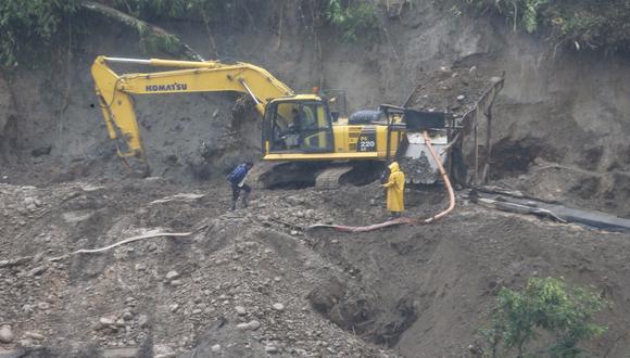 La minería informal aún es un problema urgente para el Gobierno. (Foto: USI)