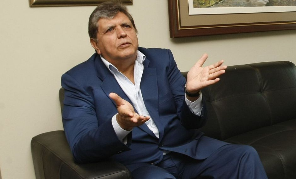 Alan García cuestionó que el fiscal José Domingo Pérez haya solicitado impedimento de salida del país luego de suspender un interrogatorio. (Foto: USI)