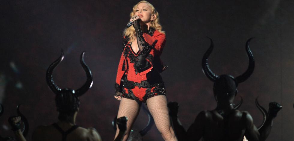 Madonna: Hace algunas semanas, la cantante sorprendió a más de uno con su discurso acerca del menosprecio que había  sufrido a lo largo de su carrera por el hecho de ser mujer.  (Foto: AFP)