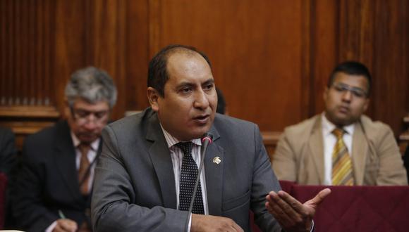 Richard Arce sostuvo que la declaración de Jorge Yoshiyamafortalece  la tesis de investigación del fiscal Domingo Pérez. (Fot: USI)