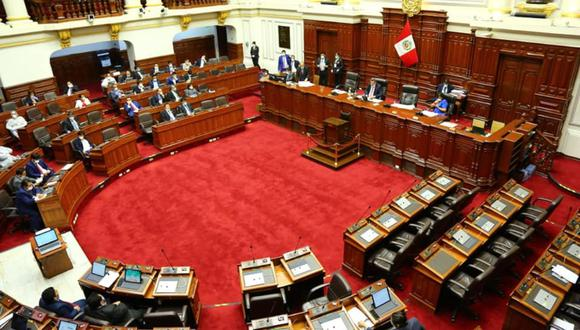Congreso de la República retomará este domingo a las 3:00 p.m. el debate del presupuesto público para el año 2021. (Foto: Congreso de la República)