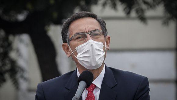 Martín Vizcarra, presidente de la República. (Foto: Anthony Niño de Guzmán   GEC)