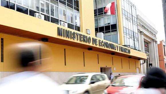 El Ministerio de Economía y Finanzas (MEF). (Foto: USI)
