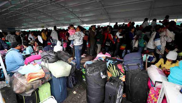 En los últimos años, a raíz de la crisis política, económica y humanitaria en Venezuela, han pasado por Ecuador más de 1.5 millones de emigrantes del país caribeño, de los que unos 400,000 se habrían quedado a vivir en el país. (Foto: EFE)