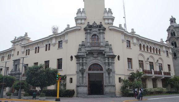 Municipalidad de Miraflores. (Foto: GEC)