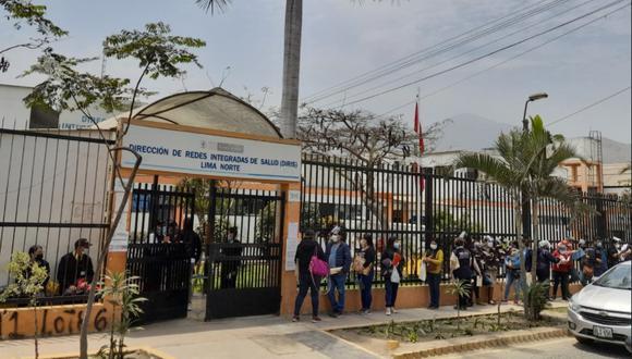 La Dirección de Redes Integradas de Salud Lima Norte (DIRIS Lima Norte). (Foto: Contraloría)