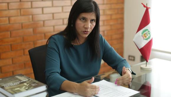 Silvana Carrión considera importante continuidad de la fiscal Rocío Sánchez. (Foto: GEC)