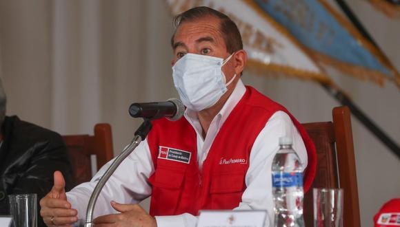 El primer ministro, Walter Martos, indicó que la investigación debe realizarse con objetividad. (Foto: PCM)