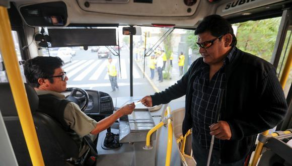 Las personas que cuenten con discapacidad severa tienen derecho al pase libre. (Foto: Difusión)