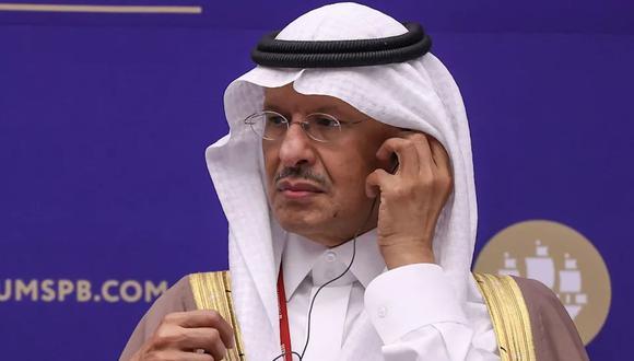 El príncipe Abdulaziz bin Salman.