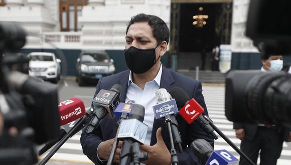 Luis Valdez expresó su confianza en que ambas iniciativas podrán aprobarse en este Congreso. (Foto: Archivo de GEC/ César Campos)