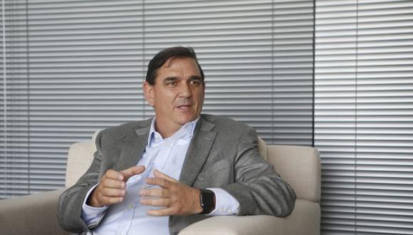 Alfonso Bustamante, presidente de Comex.
