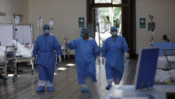 La Unidad de Cuidados Intensivos del Hospital Dos de Mayo. (GEC)
