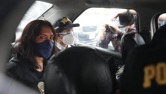 Patricia Dávila Tasayco fue secretaria general del Ministerio de Cultura. Es investigada por el presunto delito de colusión en el caso Richard Swing. (Foto: Britanie Arroyo)