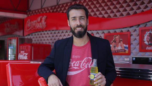 Gabriel Chávez Pooley, gerente de marketing de Coca-Cola Perú (Foto: Marco Ramon Huarato)
