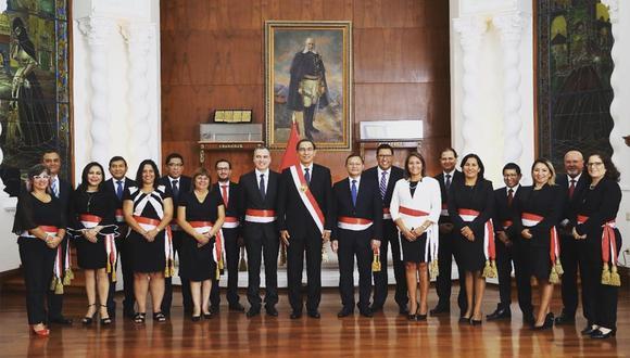 Tras jurar como nuevo presidente del Consejo de Ministros, Salvador del Solar tendrá un gabinete paritario. (Foto: PCM)
