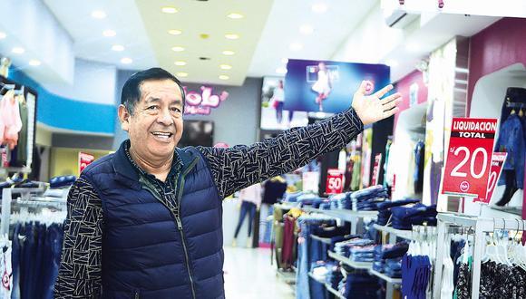 Demanda. La de provincias está despertando el comercio, dijo Contreras. (Foto: Difusión)