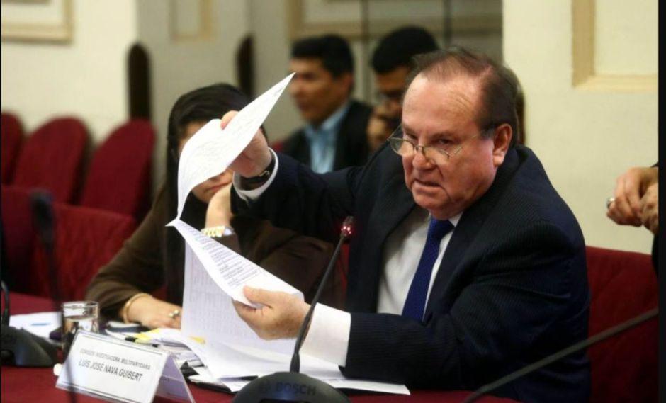 El ex secretario general de Presidencia del gobierno de Alan García, Luis Nava, y su hijo han sido incluidos en las investigaciones por presunto lavado de activos. (Foto: Andina)