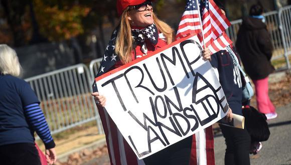 Sus opositores han dicho que el plan de Trump reduce la influencia política de estados con gran número de inmigrantes indocumentados, incluido California, al no contar su población real y restarles escaños en la Cámara baja. AFP / Olivier DOULIERY