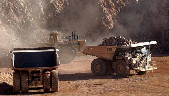 Minería. Es un sector clave para la producción nacional. (Foto: AFP)