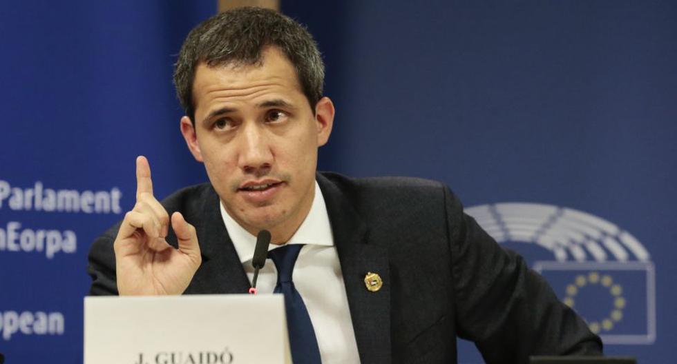 Guaidó tiene previsto dar un discurso a las 9:00 (hora local) en la gran sala del centro de congresos de Davos. (EFE)