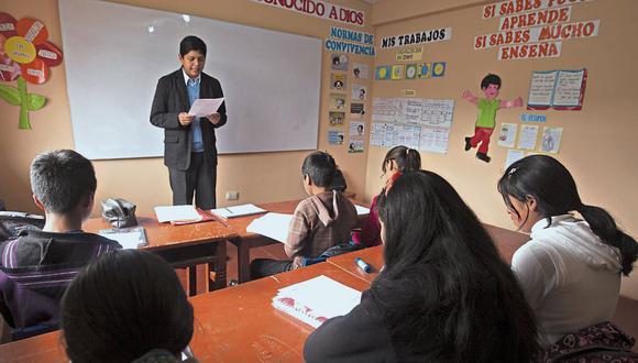 Zapatel sostiene que los colegios peruanos no estaban preparados para la educación a distancia. FOTO: JUAN PONCE / EL COMERCIO