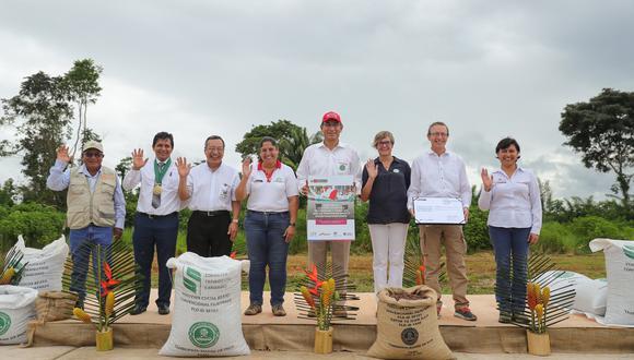 El presidente Martín Vizcarra se refirió sobre los proyectos para la zona de La Pampa durante su visita de trabajo en la región Madre de Dios.
