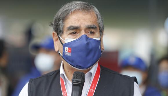 Ugarte condenó este caso de corrupción en un hospital de Lima. Foto: Archivo GEC