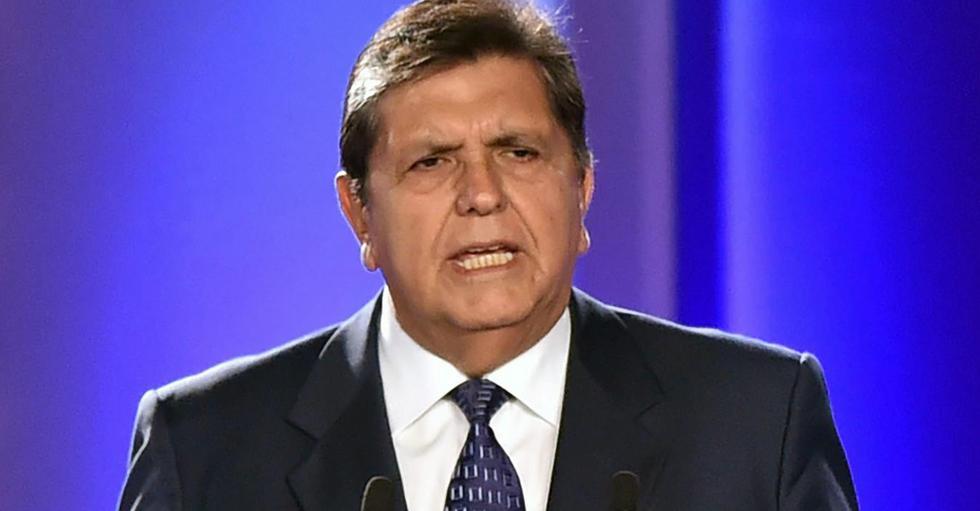 FOTO 1 |ALAN GARCÍA El expresidente peruano se suicidó el 17 de abril a los 69 años. (Foto: AFP)