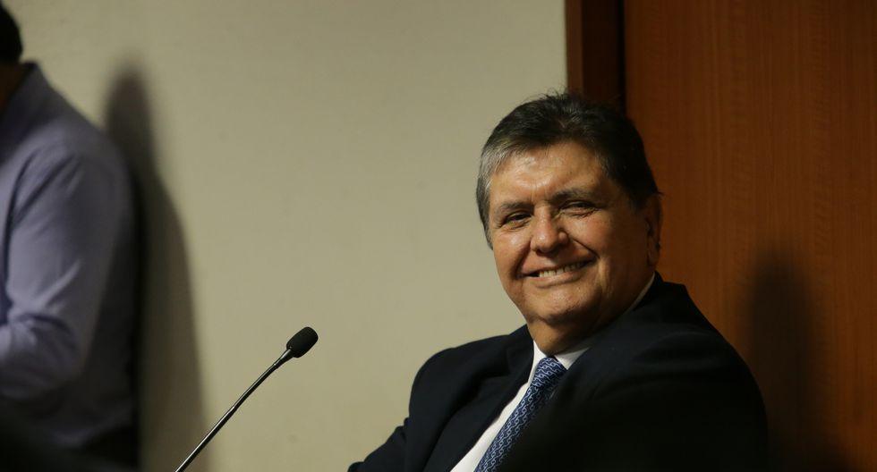 El Poder Judicial dictó el sábado un impedimento de salida del país contra Alan García. (FOTO USI)
