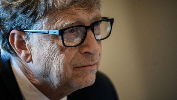 Bill Gates en una imagen del 19 de abril de 2020. (AFP).
