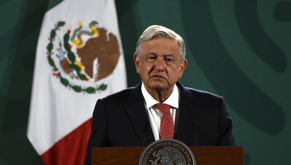 Andrés Manuel López Obrador, presidente de México. (Foto: AFP)