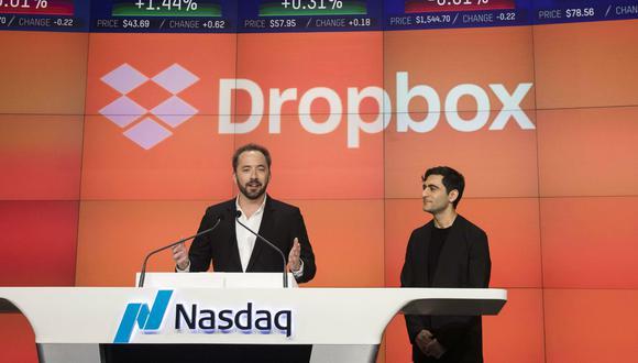 Dropbox entró a la bolsa. (Foto: AFP)