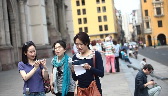 Durante el 2017 y el 2018, los turistas provenientes de Japón, China y Corea del Sur generaron US$ 368 millones en divisas para nuestro país.. (Foto: GEC)
