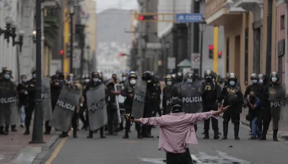 Perú debe garantizar derecho a reunión pacífica, alerta oficina de DDHH de la ONU. (Foto: GEC)