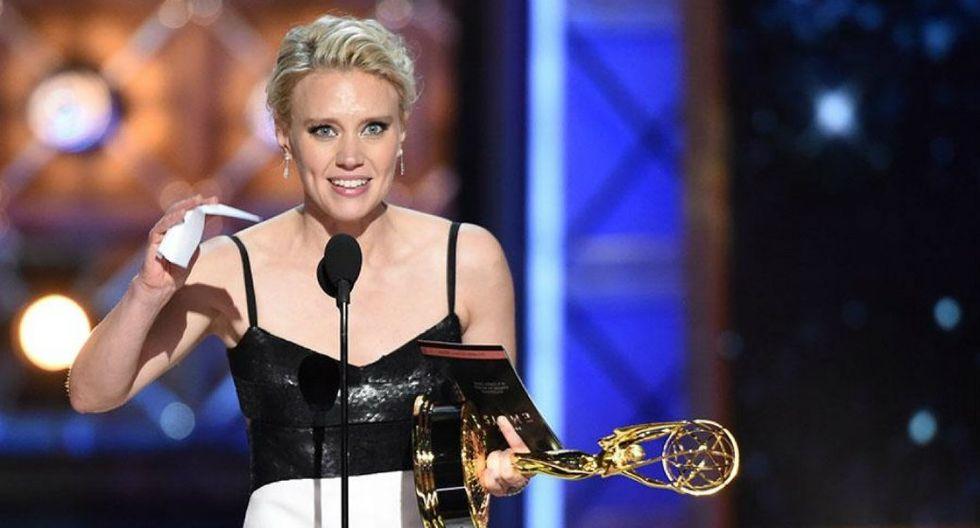 FOTO 9 | Mejor actriz de reparto de una serie de comedia: Kate McKinnon – 'Saturday Night Live'  (Foto: AFP)