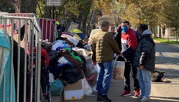 Migrantes en Chile. (Foto: Reuters)
