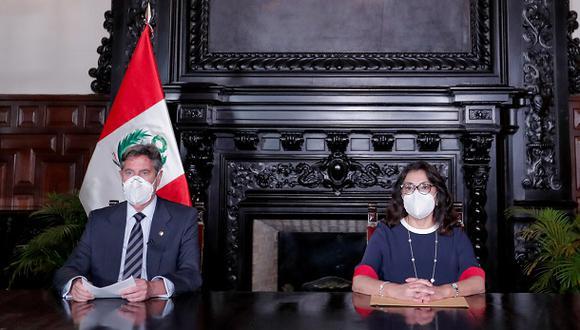 La conferencia de prensa del Ejecutivo se desarrollará en la sede de la PCM. (Foto: Presidencia Perú).