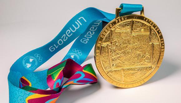 Se presentaron las medallas para los Juegos Panamericanos Lima 2019. (Foto: Twitter Lima 2019)