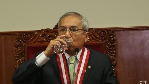 Pedro Chávarry está siendo denunciado por presunta infracción constitucional. (Foto: USI)