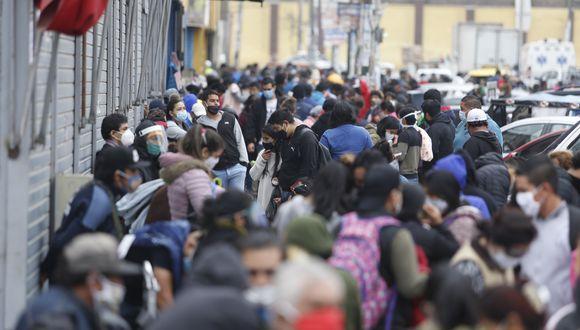 Los casos de coronavirus aumentan en el país. (Foto: Violeta Ayasta/GEC)