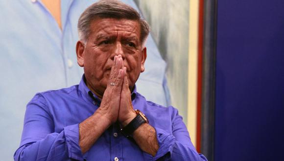 César Acuña fue excluido por no incluir una propiedad en su declaración jurada de hoja de vida. (Foto: GEC)