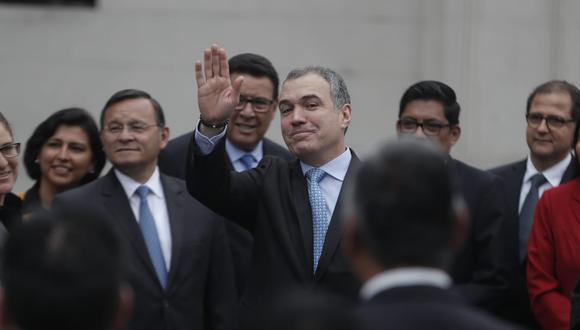 El primer ministro, Salvador del Solar, presentó la cuestión de confianza ante el pleno del Congreso este martes 4 de junio. (Foto: GEC)
