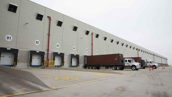 El nuevo centro de distribución de Falabella. (Foto: Difusión)