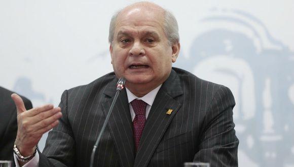 Pedro Cateriano.