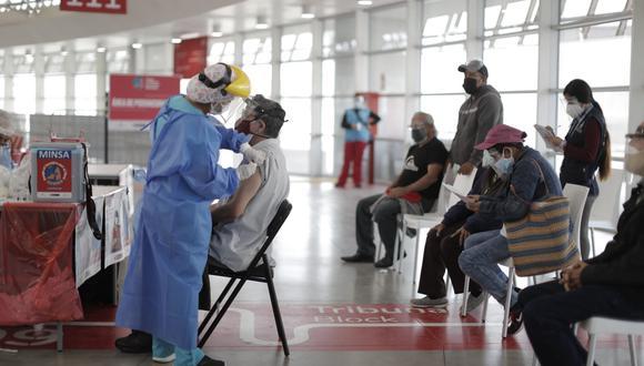 Minsa acelerará vacunación en Arequipa ante detección de un caso de la variante india del COVID-19. (Foto: GEC)