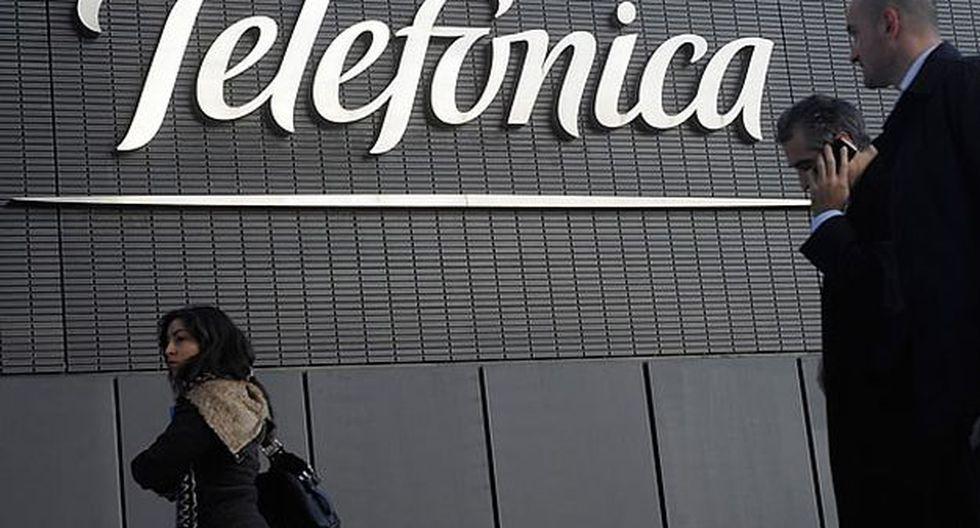 La acción de Telefónica que cotiza en la Bolsa de Valores de Lima (BVL) trepó 34% en la jornada de hoy por el anuncio de la compañía de un nuevo plan de acción. (Foto: cincodias.com)